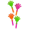 Mini Neon Hand Clappers (144 ct) - Sku BTS-029865