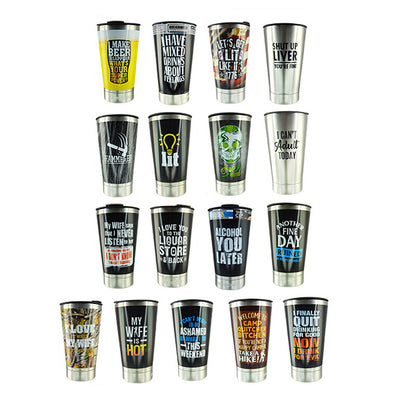 Roughneck Beer Cups & Can Insulators (25 per display) on sale at Bulk Toy Store