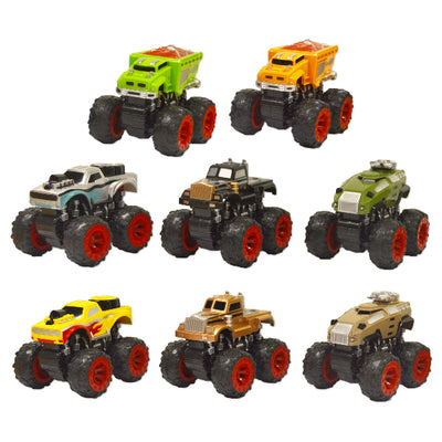 Monster Truck Road Warriors (8 ct) on sale at Bulk Toy Store