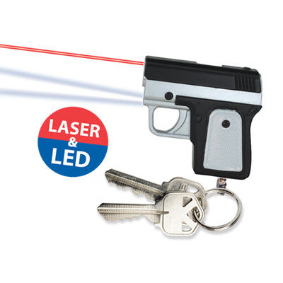 Mini Pistol LED Keychains (12 ct) on sale at Bulk Toy Store