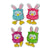 Stuffed Owl Easter Bunnies (12ct)