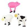 Bendable Farm Animals (Bag of 12 Pieces)