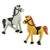 Bendable Horses (Bag of 12 Pieces)