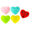 Pull Back Heart Racers (Bag of 12 Pieces)