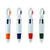 4-Color Clip Pens with Clip (Bag of 24)