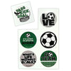 Soccer Stickers (Pack of 102 Stickers)