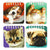 Cats & Dogs Notebooks (Bag of 12 Pieces)
