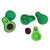 Avocado Erasers (Bag of 12 Pieces)