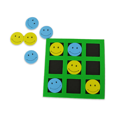 Smile Tic-tac-toe Games (one dozen) on sale at Bulk Toy Store