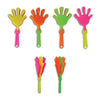 Small Hand Clappers (Bag of 24 Pieces) - Sku BTS-NB 6303