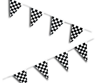 Discount Party Supplies - 120' Checkered Pennant