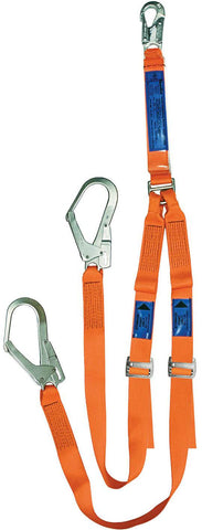 LANYRD014 : Twin Leg Adjustable Webbing Lanyard
