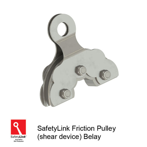 REC.PULL008 : Friction Pulley (Shear Device)