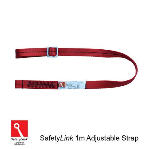 Adjustable Strap used as ground belay