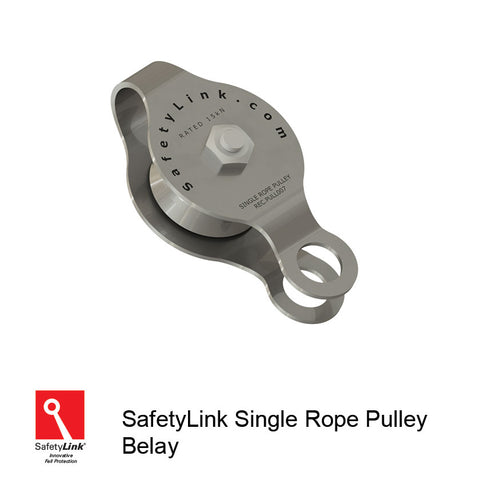 Pulley for Giant Swing and vertical belay pulley