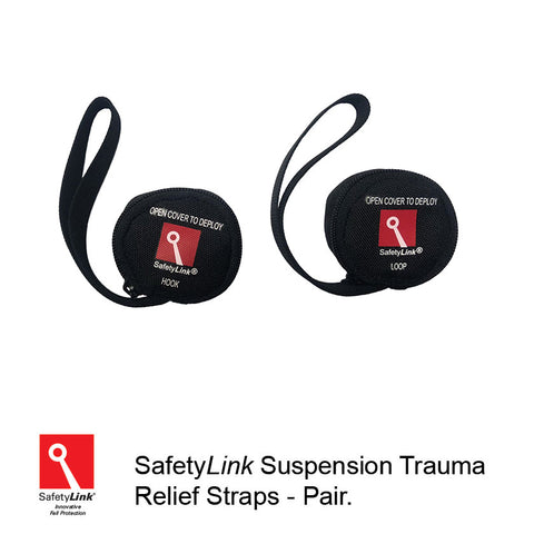 Suspension trauma relief straps – pair.