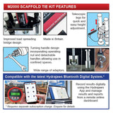 Hydrajaws Scaffold Tie tester kit with Digital Gauge