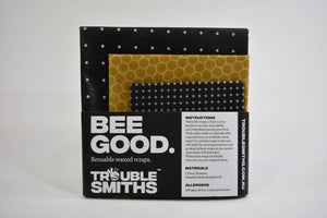 Bee Good Reusable Waxed Wraps