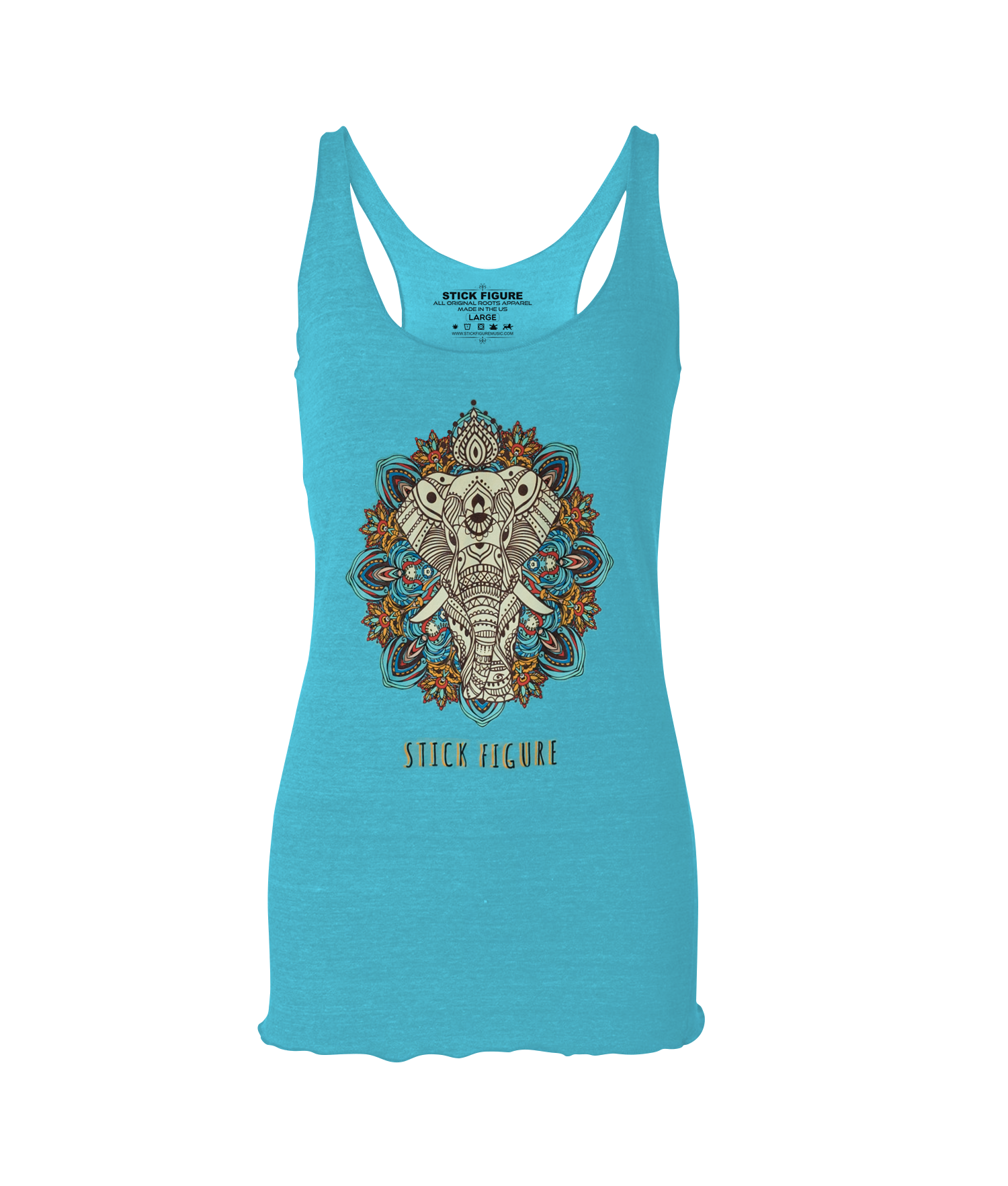 Women's Tahiti Egyptian Elephant Tank