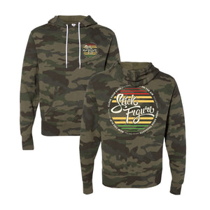 Think Good Thoughts Pullover Hoodie (Green Camo)