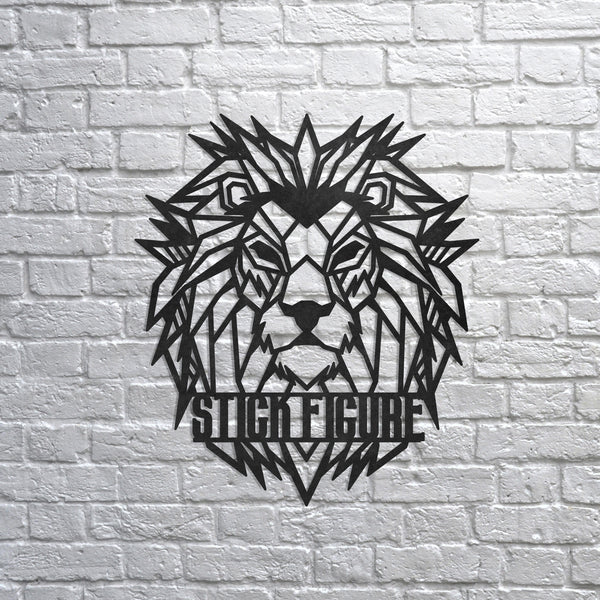 Metal Lion Wall Art