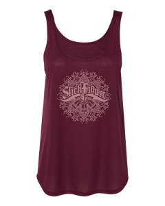 Women's Mandala Side Slit Tank