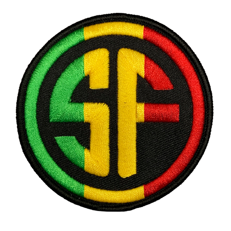 Red Gold Green SF Patch