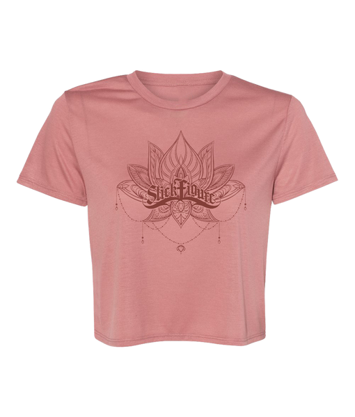 Women's Lotus Crop Tee