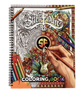 Stick Figure Coloring Book