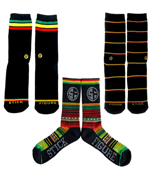 Rasta Sock Pack