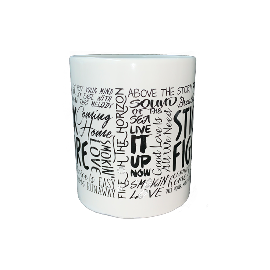 SF Song Title Mug