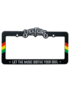 Stick Figure License Plate Frame