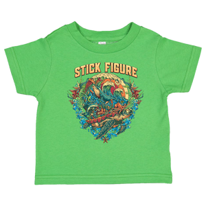 Toddler Turtle Tee (Neon Green)