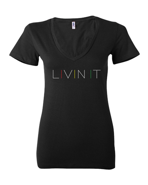 Women's Livin it V-Neck