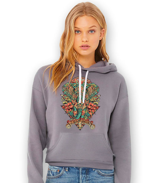 Ancient Elephant Pullover Hoodie
