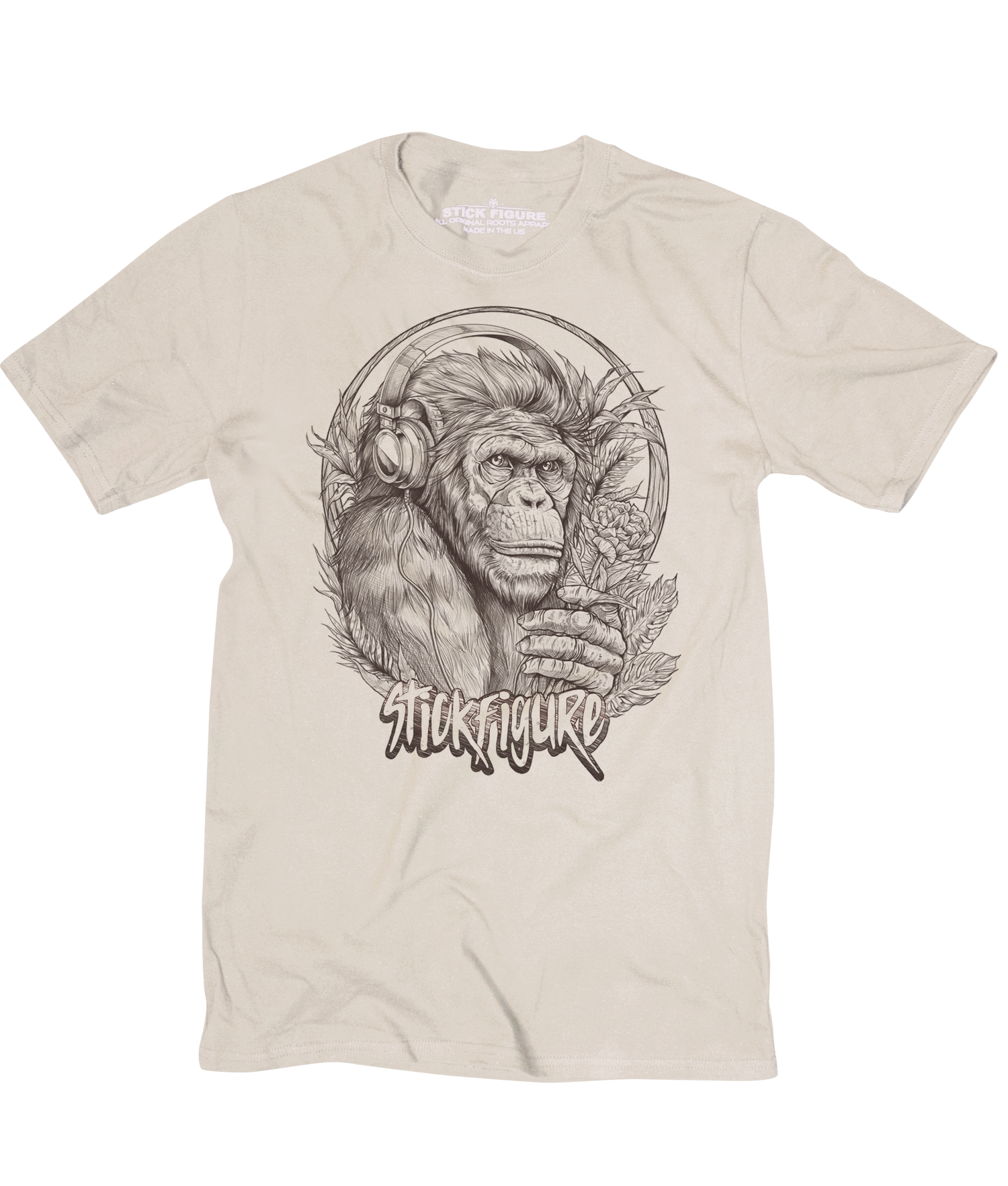 Evolution Tee (Cream)