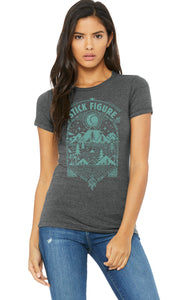 Women's Horizons Tee (Two Color Options - Teal & Mustard)