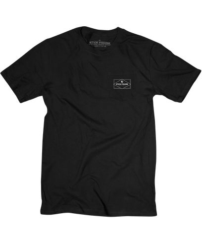 SF Pocket Tee (Black)