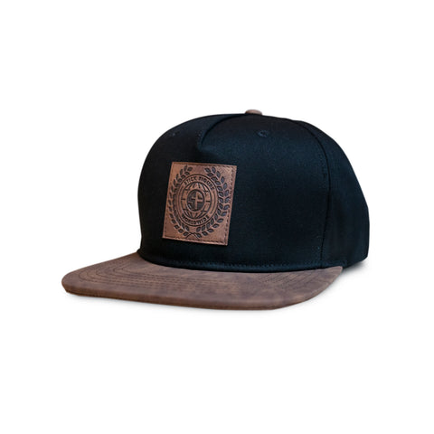 Worldwide Leather Patch Hat