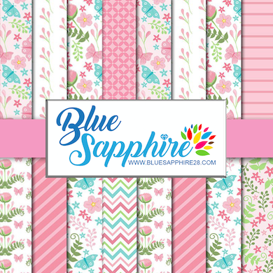 Floral Patterned Vinyl – Glossy - PV50023