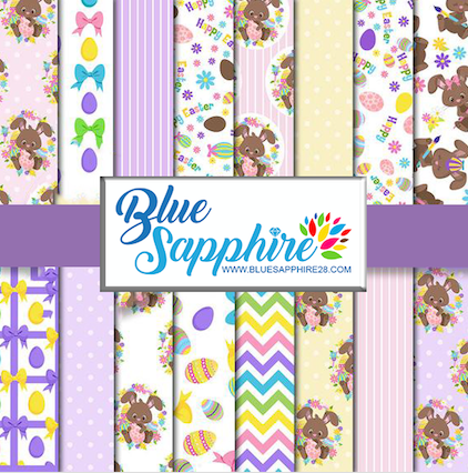 Easter Patterned Vinyl – Glossy - PV50036