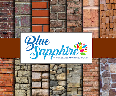 Bricks Patterned Vinyl - Matte - PV103 Bricks
