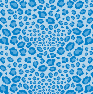 Cheetah Patterned HTV - PV517 - Blue Sapphire