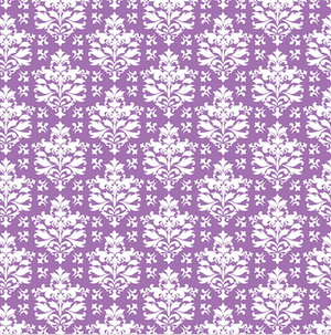 Purple Patterned Vinyl – Glossy - PV50026 - Blue Sapphire