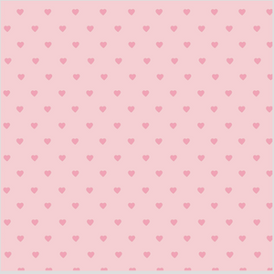 Hearts Patterned Vinyl – Glossy - PV50034 - Blue Sapphire