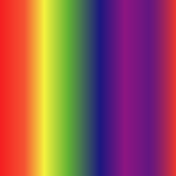 Rainbow Spectrum Patterned HTV - PV65020