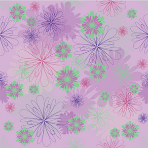 Peony Flowers Patterned Vinyl – Glossy - PV50011 - Blue Sapphire