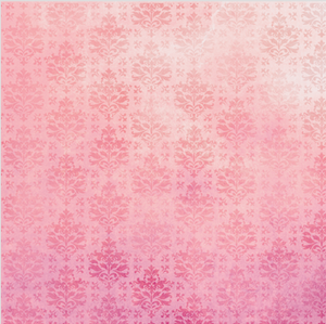 Pink Patterned HTV - PV50022 - Blue Sapphire