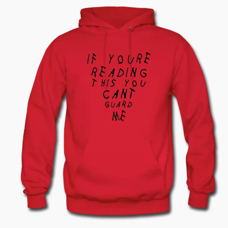 'You Can't Guard Me' Hooded Sweatshirt - nick smith