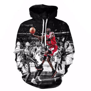 Michael Jordan Men's 3D RARE Hoodie - nick smith